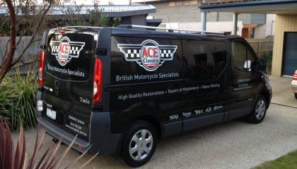 Van signwriting Geelong