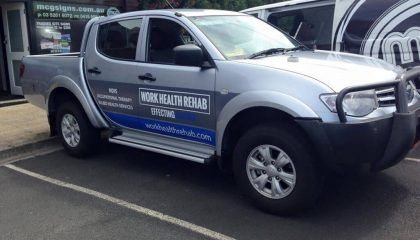Vehicle signwriting Geelong