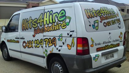 Vehicle signwriting Torquay