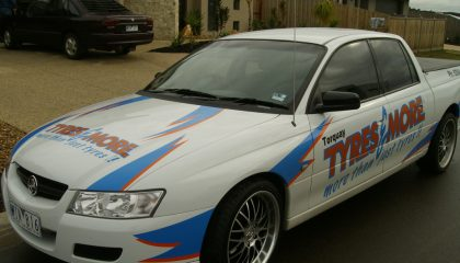 Car signwriting Torquay