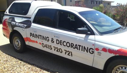 Car signwriting Geelong