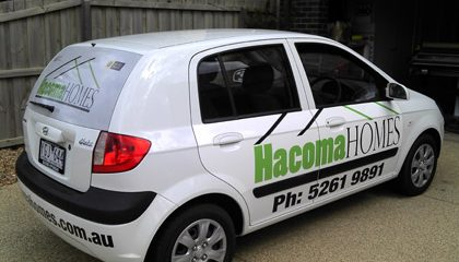Car signwriters, Torquay
