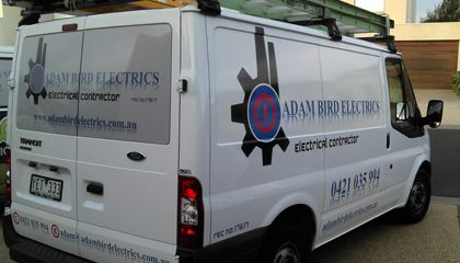 Van signwriters Geelong