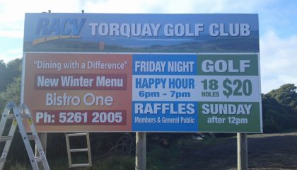 Display signs and banners Torquay